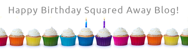 Illustration: Happy birthday squared away blog