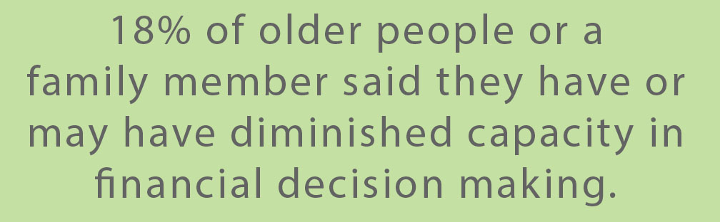 Callout: Older people and financial decision making (Green)