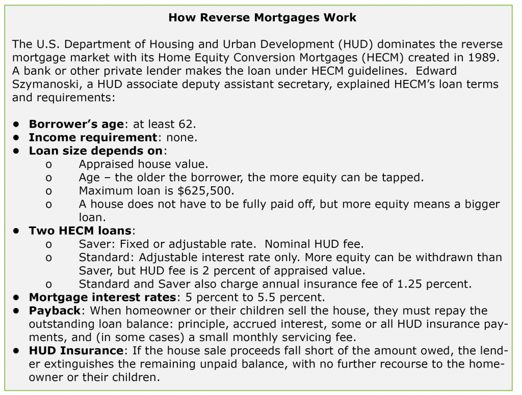 Reverse Mortgages Get No Respect - Squared Away Blog