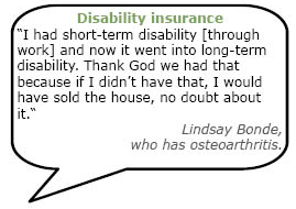 Quote about disability insurance