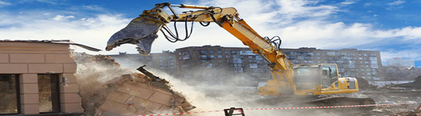 Photo of construction demolition
