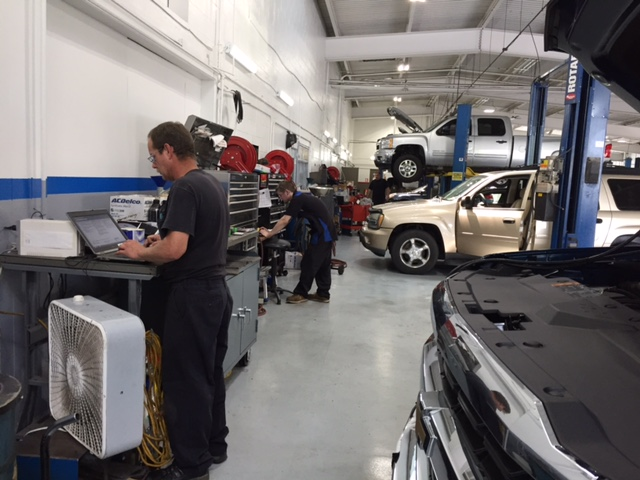 Thomson Automotive Family's service department in Bedford, Pennsylvania.