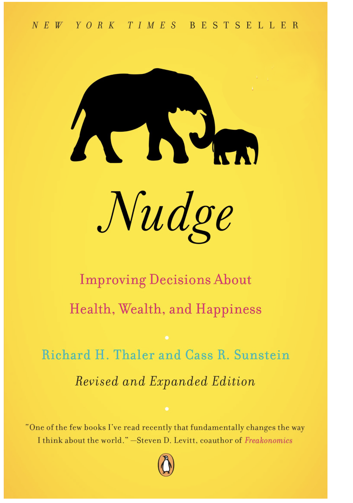 Nudge book cover