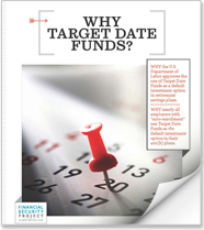Why Target Date Funds Booklet Cover