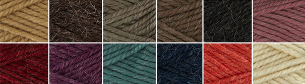 Collage of yarns