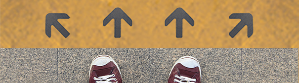 Which direction to go?