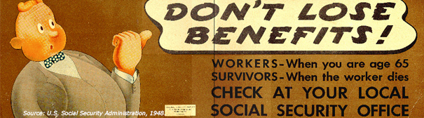 Social Security poster