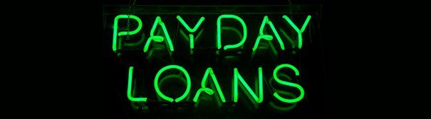 Payday loan art