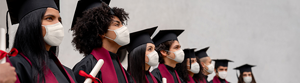 Students graduating during the pandemic